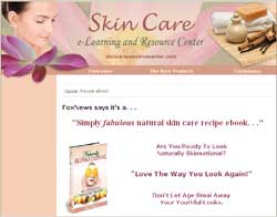 Naturally Skinsational: Rejuvenating Skin Care Recipes