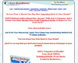 Easy Bookbinding