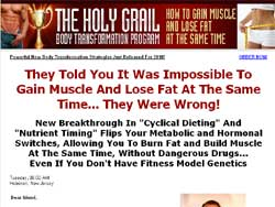 The Holy Grail Body Transformation Program: How To Gain Muscle And Lose Fat At The Same Time
