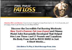 Final Phase Fat Loss