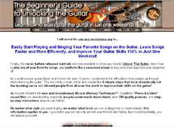 The Beginner's Guide To Unlocking The Guitar
