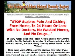 The Scabies 24-Hour Natural Remedy Report