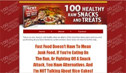 100 Healthy Raw Snacks and Treats