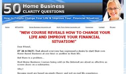 50 Home Business Clarity Questions: How to Totally Change Your Life & Improve Your Financial Situati