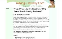 How to Run a Home Based Jewelry Party Business for Fun and Profit: A Step-by-Step Action Plan for Bu