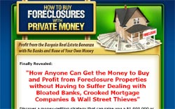 How to Buy Foreclosures with Private Money