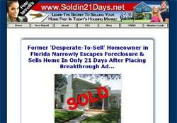 How To Sell Your Home In 21 Days or Less!