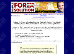 Simple Forex Solution