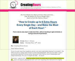 Creating Hours: Time Management for Busy Parents