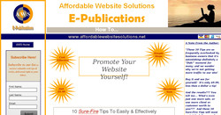 10 Sure-Fire Tips To Easily & Effectively Promote Your Website