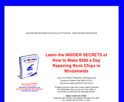 In The Chips: The Complete Guide to Marketing Windshield Repair Business