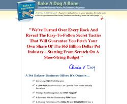 Bake A Dog A Bone