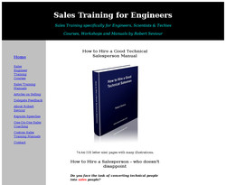 How to Hire a Good Technical Salesman