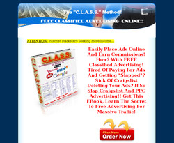 C.L.A.S.S.: Classified Listings Advertising Secret Sources!