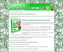 Make Money Selling Nothing on eBay