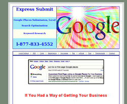 Getting Your Business on the First Page of Google  Places, in as Little as 4 Hours or Less