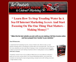 The Newbie's Quick Start Guide to Internet Marketing