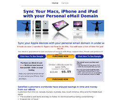 Sync Your Macs, iPad and iPhone with your Personal email Domain