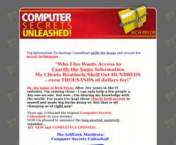 The SelfGeek Manifesto: Computer Secrets Unleashed