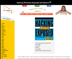 Hacking Windows Exposed