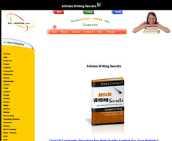 Article Writing Secrets