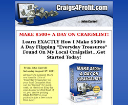 Make $500+ A Day On Craigslist!