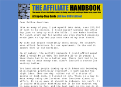 The Affiliate Handbook:How to make money with Affiliate Marketing