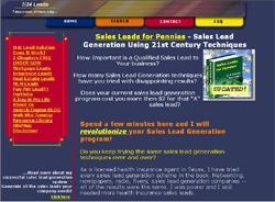 Sales Leads for Pennies - Sales Lead Generation Using 21st Century Techniques