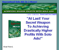 How To Reach Higher Profits With Solo Ads!