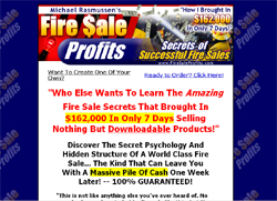 Fire Sale Profits - Secrets of Successful Fire Sales