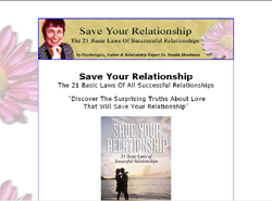Save Your Relationship:The 21 Basic Laws Of All Successful Relationships