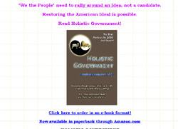 Holistic Government