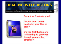 Dealing With Actors!