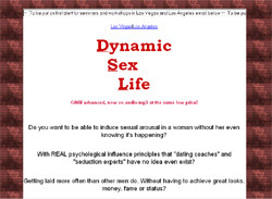 Dynamic sex life