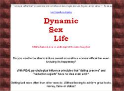 Dynamic sex life