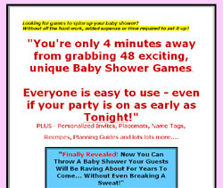 Baby Shower Games Direct