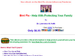 Bird Flu - Help With Protecting Your Family