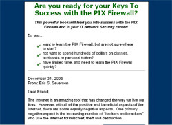 Pix Firewall Keys