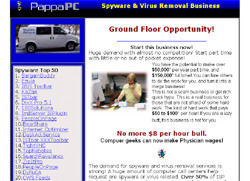 New! Spyware & Virus Removal Business