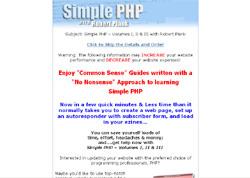 Simple PHP - Volumes I, II & III