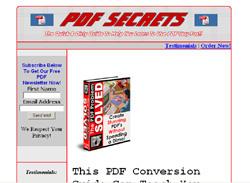 The PDF Problem Solved