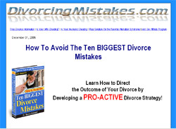 How To Avoid The Ten BIGGEST Divorce Mistakes