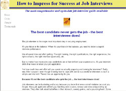 How To Impress For Success At Interviews