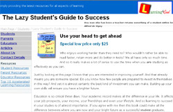 The Lazy Student's Guide To Sucess