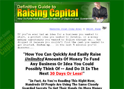 The Definitive Guide To Raising Capital 2005