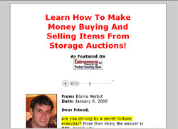 Storage Auction Secrets