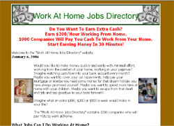2005 Work At Home Jobs Directory