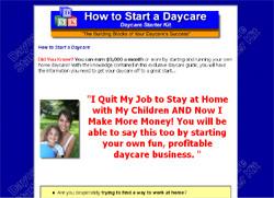 Daycare Starter Kit