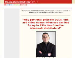 Wholesale DVD Distributor Guide