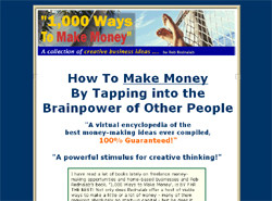 1,000 Ways To Make Money